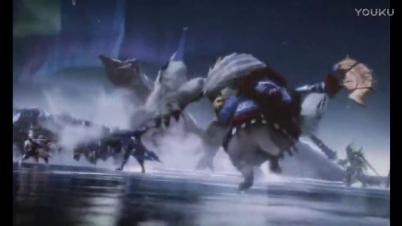 3DS《怪物猎人XX》开场动画CG