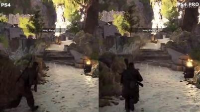 《狙击精英4》PS4 Pro与PS4版对比视频