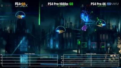 《光电战机》PS4 vs Pro 帧数测试