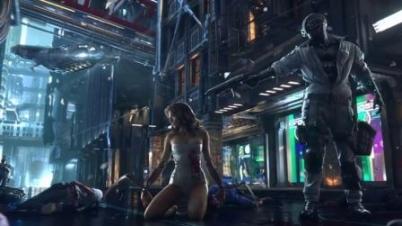 《赛博朋克2077》CG预告