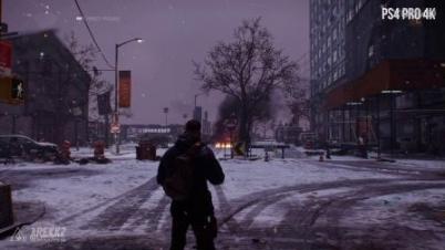 《全境封锁》1.6版PS4 Pro 4K对比1080p视频