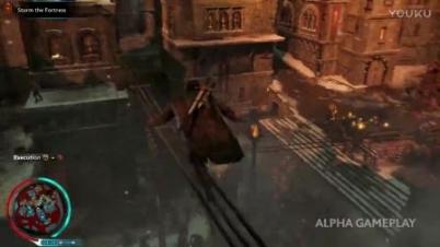 《中土世界:战争之影》16分钟官方游戏视频