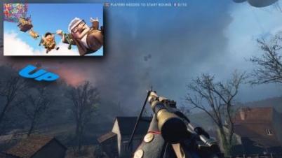 《战地1》DLC有飞屋环游记彩蛋