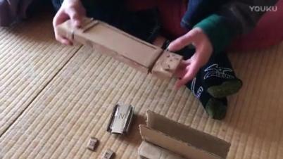 岛国小朋友自制纸盒Switch