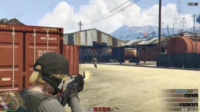【陈踏岚】《侠盗猎车手5·GTA5》线上新模式 起死回生