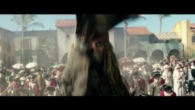 《加勒比海盗5》最新预告
