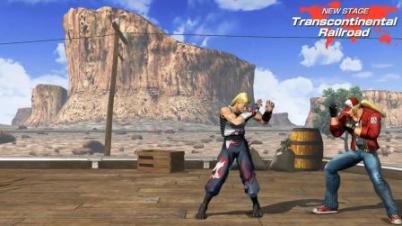 《拳皇14》2.0新增对战场地