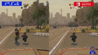 《乐高都市:卧底风云》PS4对比Switch