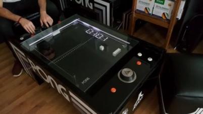 雅达利乒乓球桌演示