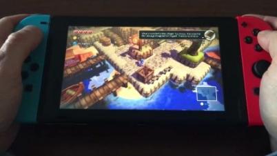 Switch《海之号角》开发视频