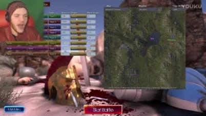 《史诗战争模拟器》一万只鸡大战斯巴达勇士