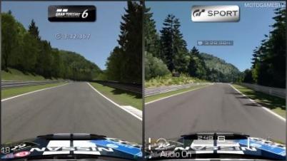 《GT赛车6》vs《GT Sport》视频