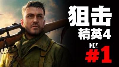 【DEV】【这游戏还可以联机】狙击精英4 #1