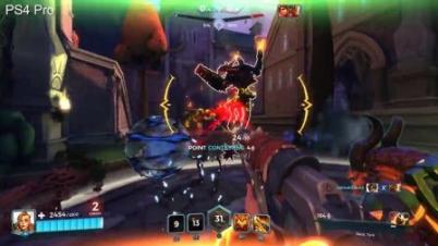 MOBA《枪火游侠》三平台画面对比