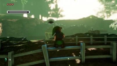 虚幻4重制版《塞尔达传说:时之笛》演示