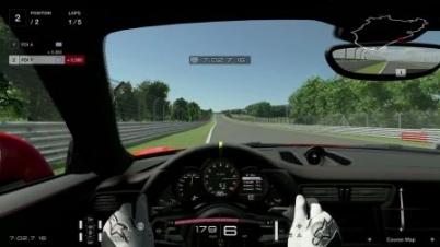 《GTS》保时捷 911 GT3 RS 宣传演示