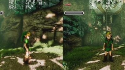 虚幻4版《塞尔达传说:时之笛》 DX11 vs DX12 对比