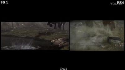 《旺达与巨像》PS4版与PS3版对比视频
