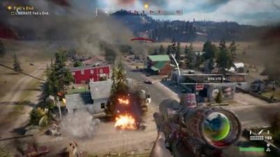 E3:《孤岛惊魂5》实机演示