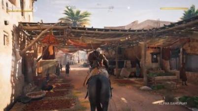 《刺客信条:起源》Xbox1 X演示