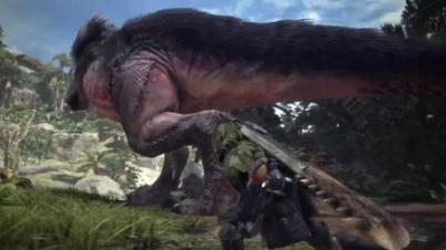 E3:《怪物猎人:世界》演示视频