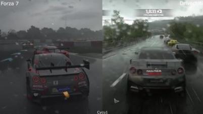 《极限竞速7》对比《驾驶俱乐部》视频