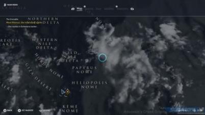 《刺客信条:起源》新试玩 游戏地图大