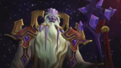 《魔兽世界》萨格拉斯之墓最终boss基尔加丹过场动画