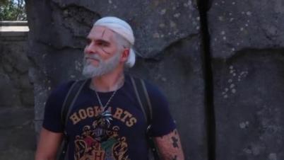 大神COS《巫师3》杰洛特视频