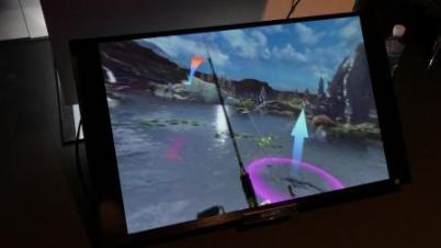 《最终幻想15》VR钓鱼试玩