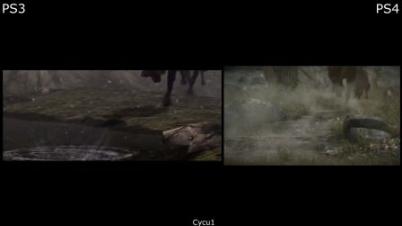 《旺达与巨像》 PS4版 vs PS3版 画面对比