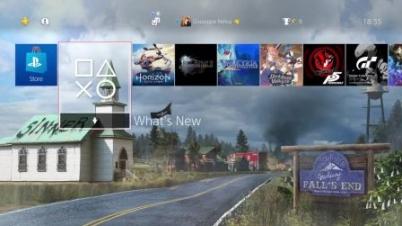 《孤岛惊魂5》PS4动态主题