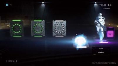 《星球大战:前线2》开箱系统