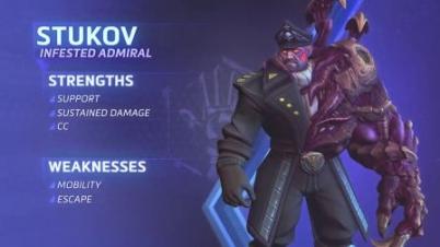 《风暴英雄》新英雄斯托科夫