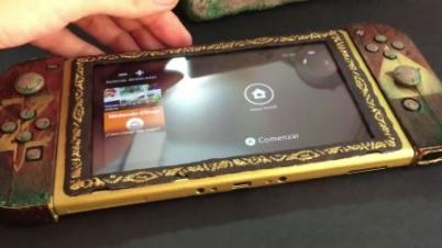 粉丝DIY:塞尔达传说·西卡石板Switch