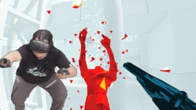 【抽风】SuperHot VR