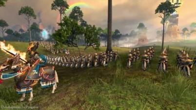 《全面战争:战锤2》高精灵演示
