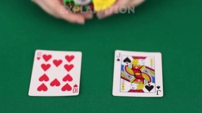 教你用扑克变7个小魔术