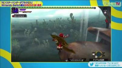Switch《怪物猎人XX》新演示 2