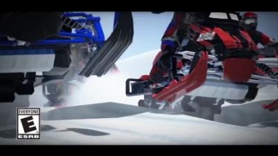 《雪地摩托自由竞赛》预告