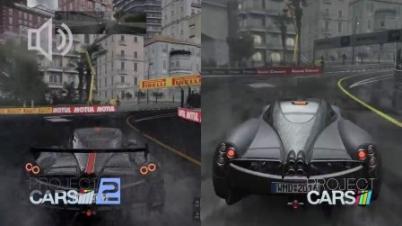 赛车计划1与2对比视频