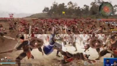 《真三国无双8》PS4版演示视频