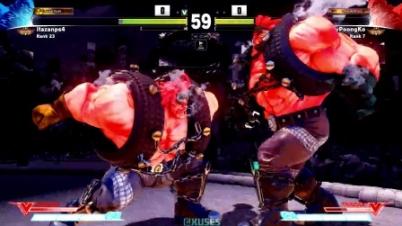 《街霸5》板桥 VS Poongko 阿比盖尔精彩对局