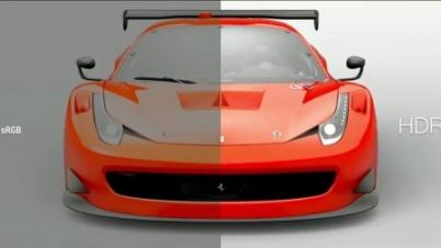 《GT Sport》HDR vs SDR效果