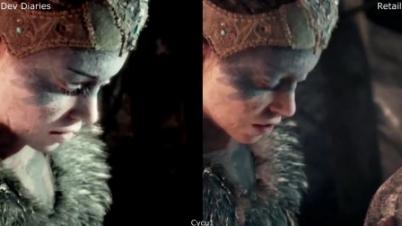 画面更强悍!《地狱之刃》开发视频与正式版对比