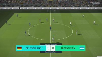 《实况足球2018》PC版德国VS阿根廷
