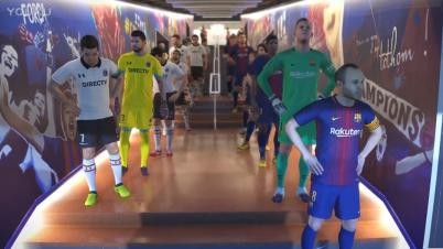 《实况足球2018》巴塞罗那VS科洛科洛