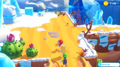 《马里奥和疯狂兔子:王国大战》战斗游戏视频2