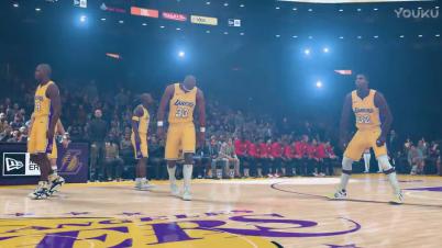 《NBA 2K18》球队历史最佳阵容宣传