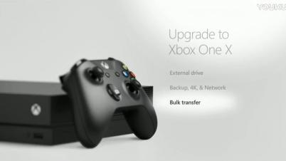 Xbox 1 X与Xbox 1游戏与数据传输功能介绍
